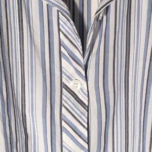 Evan Picone Striped Shirt